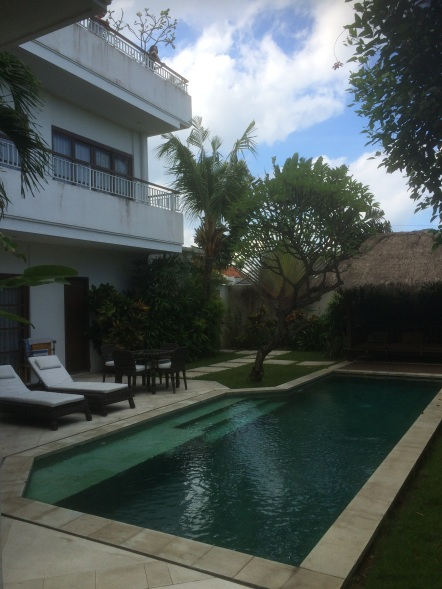 Our 4 bedroom villa which cost about $250 per night. It's really a steal!